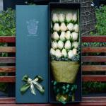 心动-19朵香槟玫瑰礼盒
