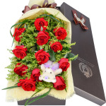 爱情的味道-11朵红玫瑰礼盒
