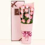 爱恋时光-11朵粉玫瑰礼盒