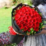 浪漫告白-33朵红玫瑰花束