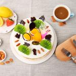 元祖|繽紛水果鮮奶蛋糕