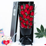 爱在眼里-19朵红玫瑰礼盒