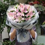 愛的回禮-19朵百合花