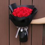 愛是唯一-19朵紅玫瑰花束