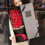 只想爱你-33枝红玫瑰鲜花礼盒