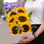 心隨你動-6朵向日葵禮盒