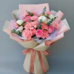 媽媽的愛-19朵粉色康乃馨