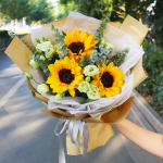 3朵向日葵花束