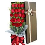 一抹朱砂-19朵紅玫瑰禮盒