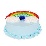 蛋糕 彩色的梦