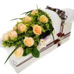 多一天爱一点-11朵香槟玫瑰礼盒