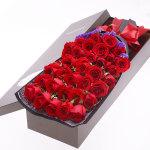 美丽无限-33朵红玫瑰礼盒