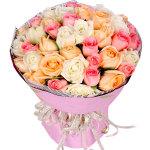 砰然心动-33朵玫瑰混搭花束