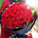 挚爱系-33枝红玫瑰鲜花