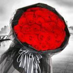 爱的拥抱-99朵红玫瑰