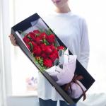 狂热之恋-19朵红玫瑰礼盒