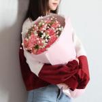 愛的祝福-19朵粉康乃馨