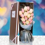 五彩繽紛-19朵混搭玫瑰禮盒