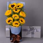 春暖花開-9朵向日葵禮盒