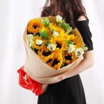陽光愛情-11朵向日葵花束
