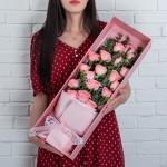 宣言-19朵粉玫瑰礼盒