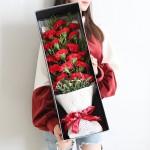 春晖-19枝红色康乃馨礼盒