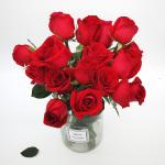 基地直送-紅玫瑰18朵+送2朵