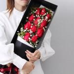 钟情-11朵红玫瑰礼盒