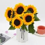 基地直送-4朵向日葵+送1朵(共5朵)