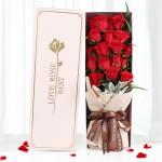 期待-19朵紅玫瑰禮盒