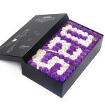 香皂花-99朵香皂玫瑰花礼盒520粉