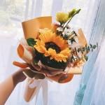 一米陽光-向日葵鮮花小花束