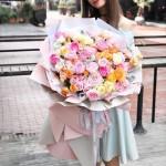浪漫满屋-韩式巨型花束