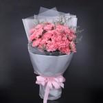 愛的問候-33朵粉色康乃馨花束