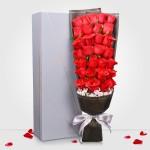 挚爱永恒-33朵红玫瑰礼盒