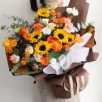 旭日東升-向日葵韓式巨型花束