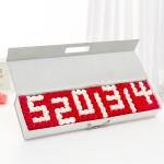香皂花-5201314混搭香皂玫瑰花手提禮盒