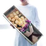 花与爱丽丝-19朵香槟玫瑰礼盒