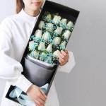 輕語-19朵白玫瑰禮盒